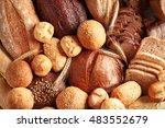 Fresh Bread Background