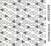 organic geometry shapes... | Shutterstock .eps vector #483552898