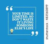 inspirational motivational... | Shutterstock . vector #483560899