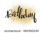 vector illustration  black... | Shutterstock .eps vector #483583240