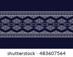 geometric ethnic pattern design ...   Shutterstock .eps vector #483607564