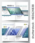 templates for brochure ... | Shutterstock .eps vector #483624838