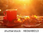 Autumn Leaves And Hot Steaming...