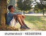 indian boy | Shutterstock . vector #483685846