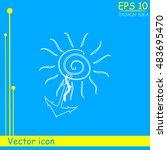 anchor icon   Shutterstock .eps vector #483695470