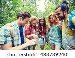 technology  travel  tourism ... | Shutterstock . vector #483739240