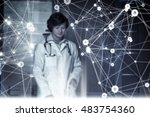 innovative technologies in... | Shutterstock . vector #483754360