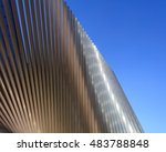 abstract metallic surface... | Shutterstock . vector #483788848