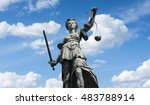 Statue Of Lady Justice ...
