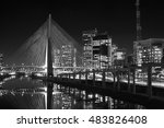 estaiada bridge sao paulo night ... | Shutterstock . vector #483826408