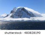 anvers island in antarctica | Shutterstock . vector #483828190