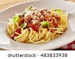 Plate Of Spaghetti Bolognese...