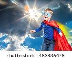 kid. | Shutterstock . vector #483836428