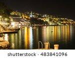 beautiful night landscape of... | Shutterstock . vector #483841096