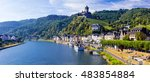travel in germany   pictorial... | Shutterstock . vector #483854884