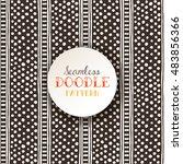 indian ethnic seamless pattern... | Shutterstock .eps vector #483856366