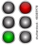 traffic light | Shutterstock .eps vector #48385978