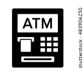 atm   automated teller machine... | Shutterstock .eps vector #483906250