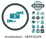 bribe icon with bonus images.... | Shutterstock .eps vector #483910249