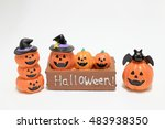 jack o' lantern  halloween ... | Shutterstock . vector #483938350
