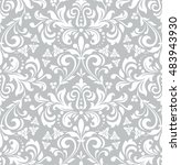 wallpaper in the style of... | Shutterstock . vector #483943930