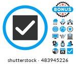 check icon with bonus design...