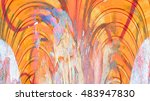 abstract color background... | Shutterstock . vector #483947830