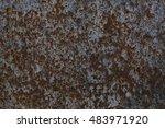 rust steel  | Shutterstock . vector #483971920
