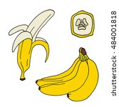 Collection Of Bananas Icon....