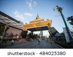 khonkaen  thailand   december...   Shutterstock . vector #484025380