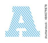 letter a alphabete vector... | Shutterstock .eps vector #484079878