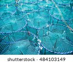 Colorful Crab Traps Are Stacke...