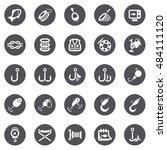 fishing icons   Shutterstock .eps vector #484111120