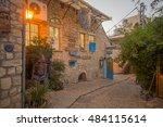 safed  israel   september 14 ... | Shutterstock . vector #484115614