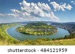 famous popular wine village of... | Shutterstock . vector #484121959