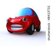 3d rendering of a cartoon... | Shutterstock . vector #48413731