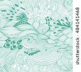 seamless pattern abstract...   Shutterstock .eps vector #484141468