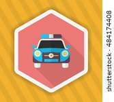police car icon  vector flat... | Shutterstock .eps vector #484174408