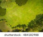 top view of park  natural grass ... | Shutterstock . vector #484182988