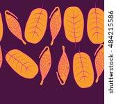 seamless horizontal pattern... | Shutterstock . vector #484215586