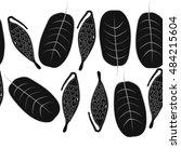 seamless horizontal pattern...   Shutterstock . vector #484215604