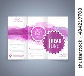 brochure tri fold template ... | Shutterstock .eps vector #484219708