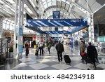 chicago  usa   april 1  2014 ... | Shutterstock . vector #484234918