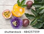 Fresh Passion Fruit Juice With...