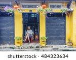 hoi an  vietnam   july 17  2015 ... | Shutterstock . vector #484323634