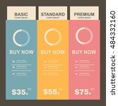 set offer tariffs. ui ux vector ...