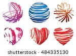 Vector Set Of Abstract...