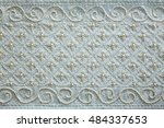 hand made embroidery bead ... | Shutterstock . vector #484337653