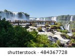 Viewpoint Of Iguazu Falls From...