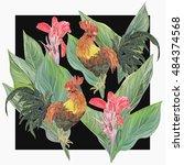 bright design  vector print...   Shutterstock .eps vector #484374568
